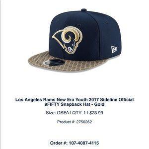 Other - Rams SnapBack youth